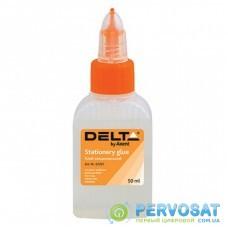 Клей Delta by Axent Stationery glue, polymer, 50 мл, cap dispenser (D7221)