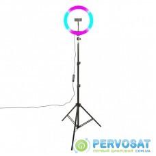 Набор блогера XoKo BS-600, stand 65-185cm with RGB LED lamp 26cm (BS-600)