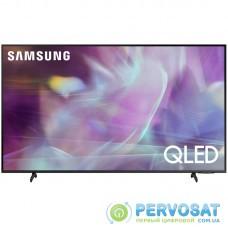 """Телевiзор 75"""" QLED 4K Samsung QE75Q60AAUXUA Smart, Tizen, Black"""