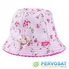 Панама Kitti с цветочками (Y8120-4-48G-pink)