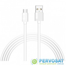 Дата кабель USB 2.0 AM to Type-C 2.0m Nets T-C801 White T-PHOX (T-C801(2) white)