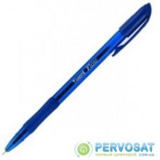 Ручка масляная Axent Flow, blue (AB1054-02-А)