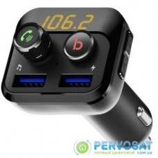FM модулятор Grand-X 98GRX MegaBass, Bluetooth V5.0 MicroSD, 2USB , MegaBass, han (98GRX)