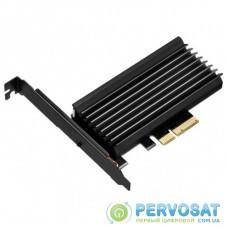 Плата расширения Silver Stone PCIe x4 до SSD m.2 NVMe Heatsink (SST-ECM24)