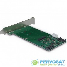 Плата расширения Inter-Tech до SSD M.2 SATA III у слот (KT023A)