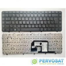 Клавиатура ноутбука HP Pavilion dv6-3000 черная с черной рамкой UA (LX6/NSK-HR0UQ 01/9Z.N4CUQ.001/AELX6U00210)