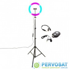 Набор блогера XoKo BS-600+ stand 65-185cm with RGB LED, microphone, remote cont (BS-600+)