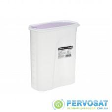 Контейнер для сипучих Ardesto Fresh 2.5 л, ліловий, пластик