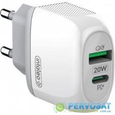 Зарядное устройство Intaleo TCQ/PD220 20W white (1283126506581)
