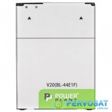 Аккумуляторная батарея для телефона PowerPlant LG V20 (BL-44E1F) 3200mAh (SM160198)