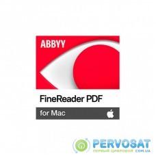 ПО для работы с текстом ABBYY FineReader PDF for Mac, Single User License (ESD), Perpetual (FR15XM-FMPL-X)