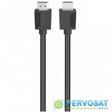 Кабель мультимедийный HDMI to HDMI 1.5m Black Ethernet 4K HAMA (00205005)