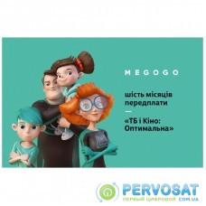 Карта активации ТВ Megogo «ТВ и Кино: Оптимальная (Карта)» на 6 месяцев