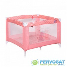 Детский манеж Bertoni/Lorelli PLAY (pink hippo)