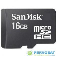Карта памяти SANDISK 16Gb microSDHC class 4 (SDSDQM-016G-B35N\SDSDQM-016G-B35)