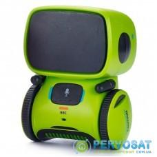 Интерактивная игрушка AT-Robot робот с голосовым управлением зеленый (AT001-02)