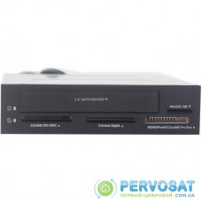 Считыватель флеш-карт GEMBIRD SD/MMC/RS-MMC/MicroSD + 2.5'' HDD/SSD (FDI2-ALLIN1-03)