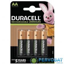 Акумулятори Duracell HR6 2500mAh 4шт