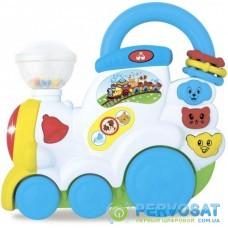 Развивающая игрушка BeBeLino Поезд с животными (58085)