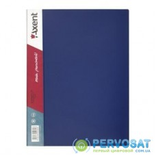 Папка с файлами Axent 40 sheet protectors, blue (1040-02-А)