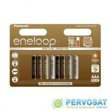 Аккумулятор PANASONIC Eneloop AAA 750mAh NI-MH Tones Earth * 8 (BK-4MCCE/8UE)