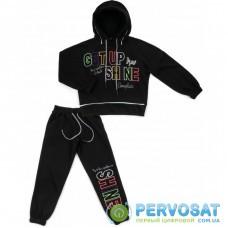 """Спортивный костюм Shukoko """"SHINE"""" (1171-158G-black)"""