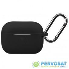 Чехол 2E для Apple AirPods Pro Pure Color Silicone 2.5 мм Black (2E-PODSPR-IBPCS-2.5-BK)