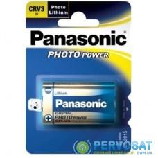 Батарейка PANASONIC CR V3 * 1 LITHIUM (CR-V3L/1BP)