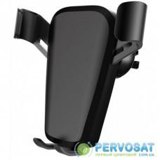 Универсальный автодержатель ColorWay Soft Touch Gravity Holder Black (CW-CHG03-BK)
