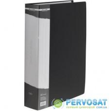 Папка с файлами BUROMAX 100 files А4 (in case), black (BM.3633-01)