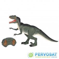 Same Toy Динозавр - Велоцираптор зеленый (свет, звук) RS6134Ut