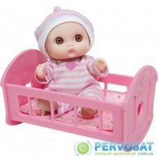 Пупс JC Toys Малыш с кроваткой (JC16912-6)