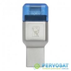 Считыватель флеш-карт Kingston USB 3.1/Type C MobileLite Duo 3C (FCR-ML3C)