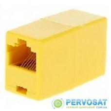 Сращиватель 1+1 RJ45 UTP 5e, Yellow Merlion (06185)
