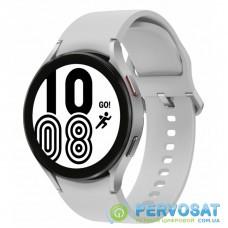 Смарт-часы Samsung SM-R870/16 (Galaxy Watch 4 44mm) Silver (SM-R870NZSASEK)