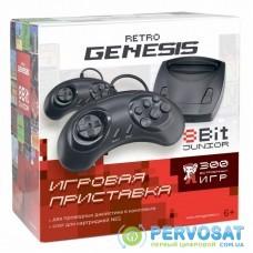 Игровая консоль Retro Genesis 8 Bit Junior (300 игр, 2 проводных джойс (ConSkDn84)