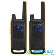 Портативная рация Motorola TALKABOUT T82 TWIN and CHRG Yellow Black (5031753007232)