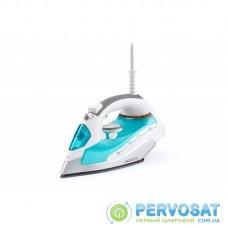Праска Ardesto IR-C2228-TQ/2200Вт/280мл/пар/ самоочищення /антикапля /керам.под /блакитний