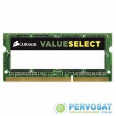 Модуль памяти для ноутбука SoDIMM DDR3L 8GB 1600 MHz ValueSelect CORSAIR (CMSO8GX3M1C1600C11)