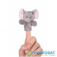 Лялька goki для пальчикового театру Слоник 15125G-2