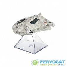 Ночник Ekids Радиочасы Disney, Star Wars, Millenium Falcon с ночником (SW-347.UFMV7)