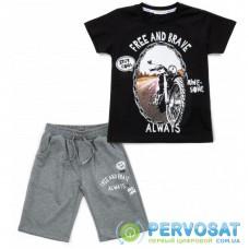 Набор детской одежды Breeze с мотоциклом (15772-140B-black)