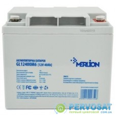 Батарея к ИБП Merlion MERLION GL12400M6 12 V-40 Ah (GL12400M6)