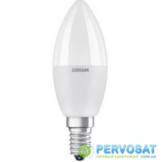 Умная лампочка OSRAM LED STAR Е14 5.5-40W 2700K+RGB 220V Р45 пульт ДУ (4058075144385)
