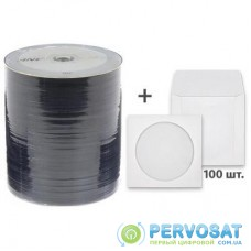 Диск DVD ANV 4,7Gb 16x Bulk 100 шт DVD-R + 100 шт конверт (124х124мм) (907WFDRMNW001s)