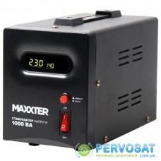 Стабилизатор Maxxter MX-AVR-S1000-01