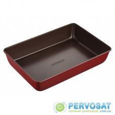 Форма для випікання Ardesto Golden Brown прямок. 34,5*24 см, коричневий,червоний, вуглецева сталь