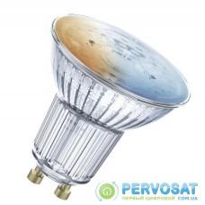 Лампа світлодіодна LEDVANCE Smart+ PAR16 5W 2700-6500K GU10 діміруемая