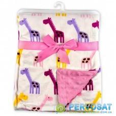 Детское одеяло Luvable Friends двухстороннее для девочек (50572 F)