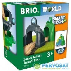 Железная дорога Brio World Smart Tech Набор тоннелей (33935)